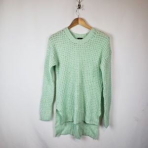 Rue21 Hi-Low Pull Over Sweater Sz XL Green
